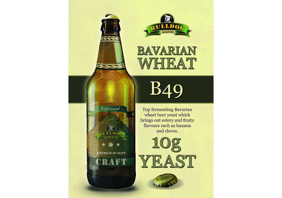 Bulldog B49 Bavarian Wheat Yeast 10g
