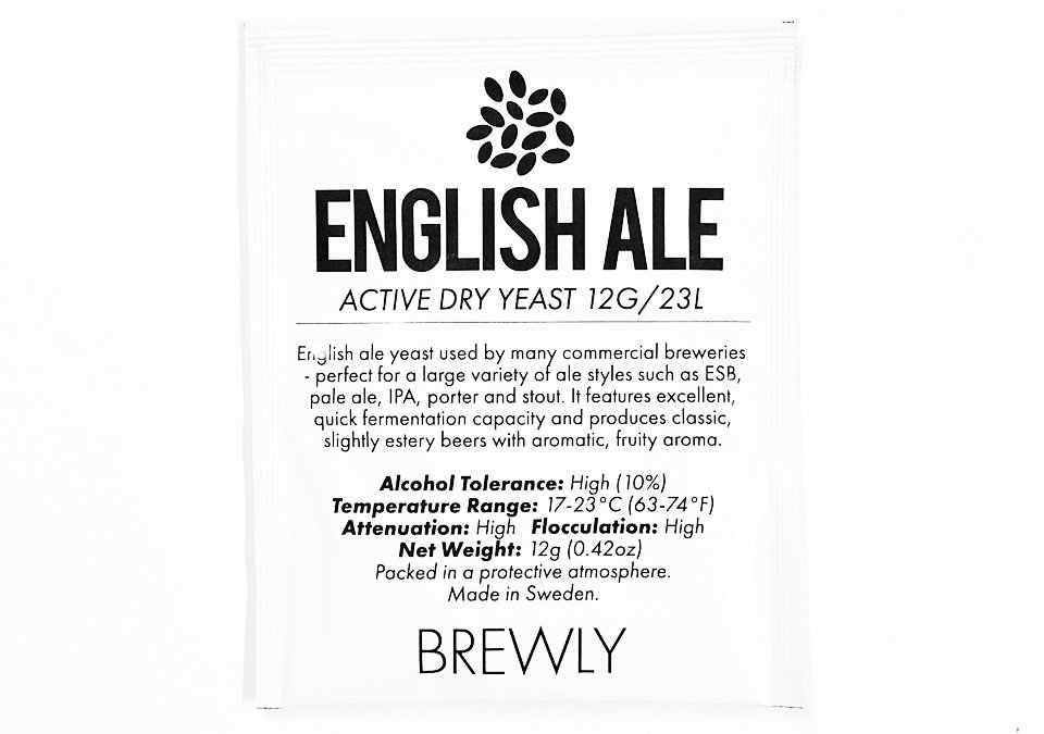 Brewly English Ale Yeast