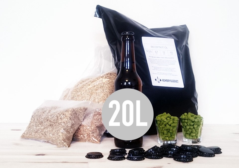 Saaz Czech Pilsner 5% Recipe Kit 20L