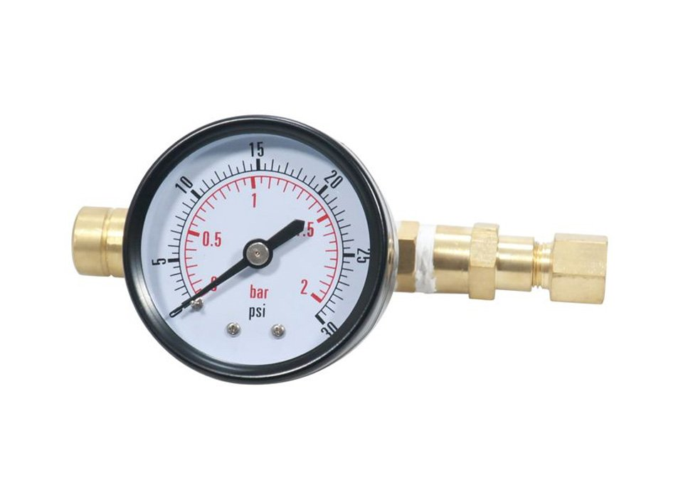 Pressure Valve with Manometer 2 Bar