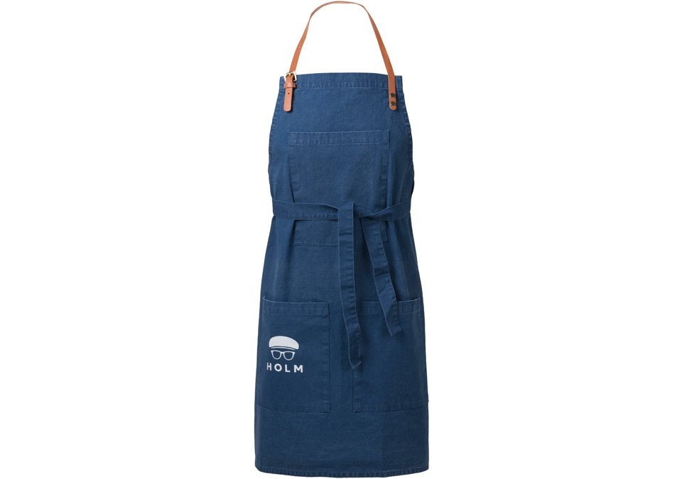 Apron Holm Washed Blue