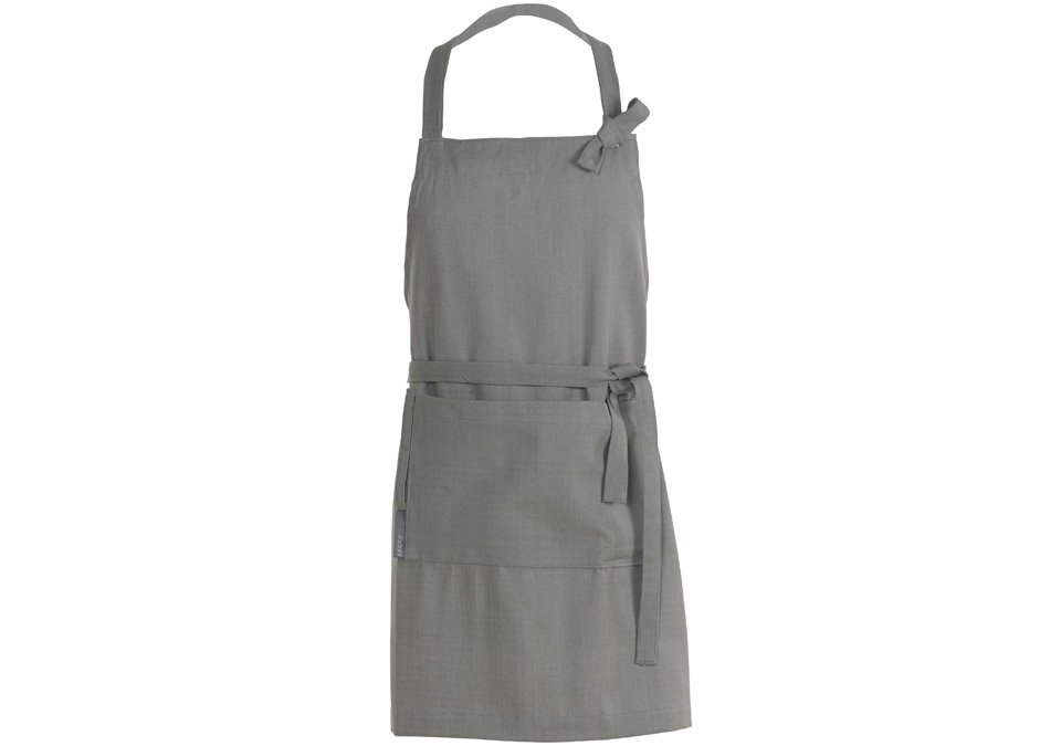 Apron Herringbone Grey