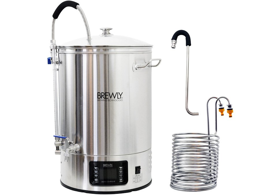 Brewly 40L Brewery with Chiller & Whirlpool