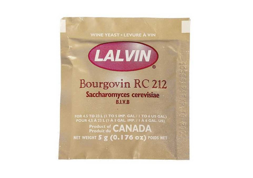 Lalvin RC-212 5g Wine Yeast
