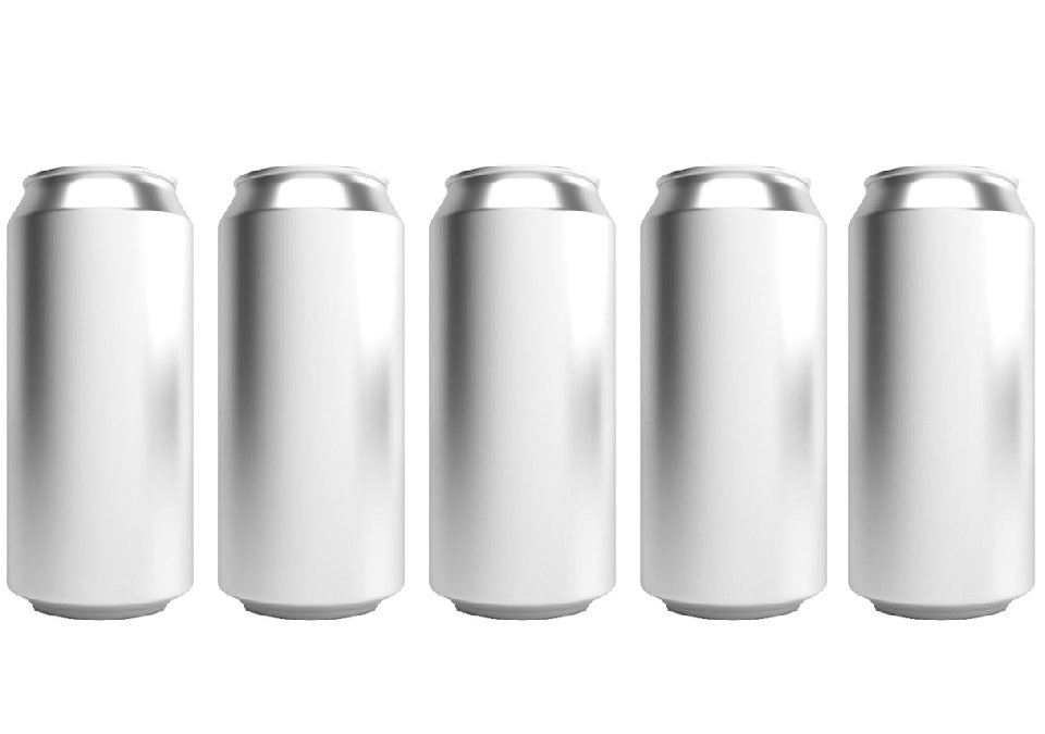 Cans 440ml Standard Silver CDL 142-pack