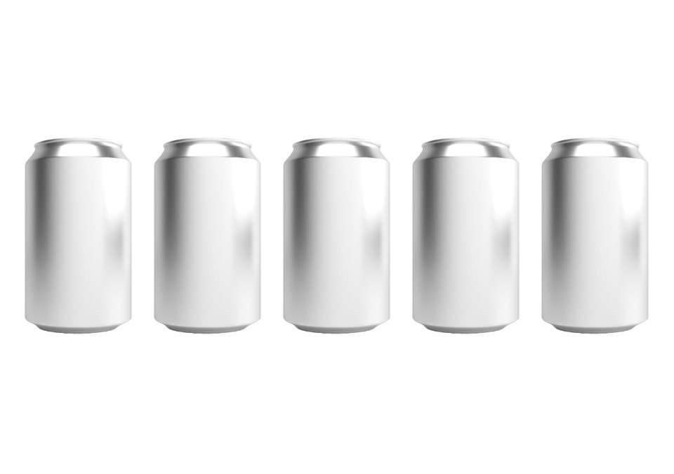 Cans 330ml Standard Silver CDL 196-pack
