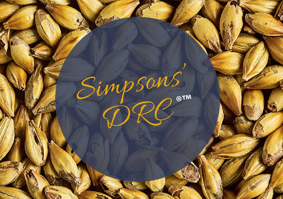 Simpsons DRC Malt 2kg Crushed