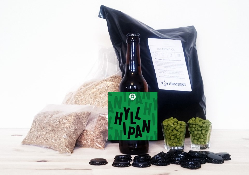 Hyllie Hyllipan IPA 6,5% Recipe Kit 10L