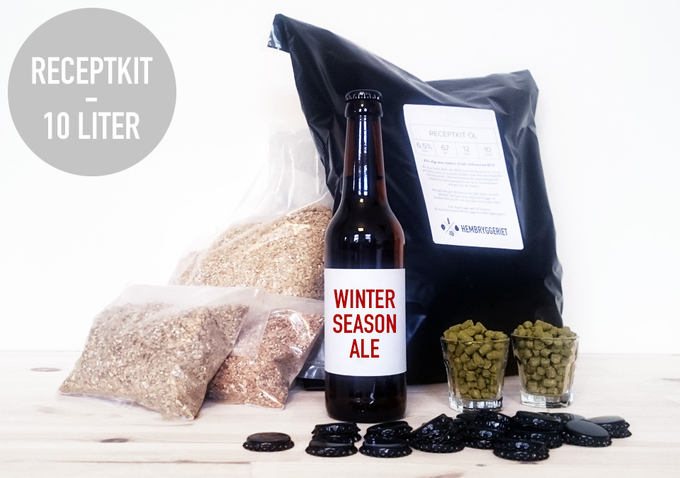 Winter Season Ale 6% Receptkit