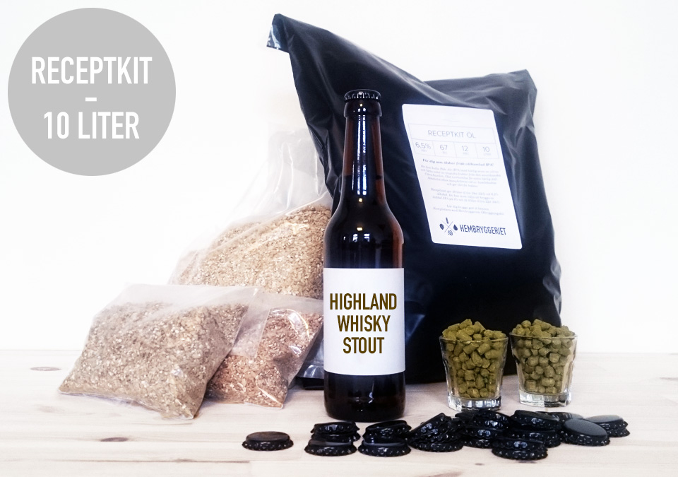Highland Whisky Stout 7% Receptkit